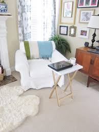 Painting Coffee Tables Transformation Tuesday Folding Snack Table And Bench Love Your