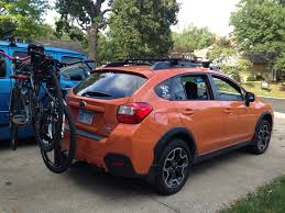 Subaru Wrx Roof Rack by Bikes 2016 Subaru Crosstrek Trailer Hitch Subaru Forester Bike