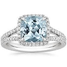 aquamarine wedding rings primavera collection gemstone engagement rings brilliant earth