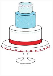 cool how to draw a wedding cake before decorating process