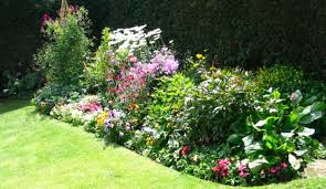 bedroom landscape architecture flower bed designs consideration