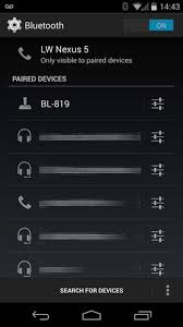 bluetooth settings android how to i communicate with my bluetooth serial device from android