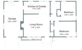 small ranch house floor plans simple small house plan