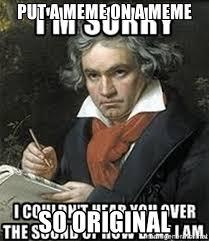 So Original Meme - put a meme on a meme so original meme on a meme meme generator