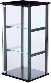 tempered glass shelves for kitchen cabinets tempered glass display cabinet with 3 glass
