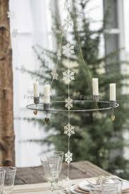 ib laursen paper cut on a string snow crystal fine cut