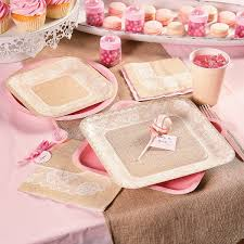 this trendy pink u0026 burlap baby shower is so sweet the mom to be