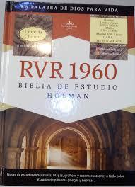 rvr 1960 biblia de estudio holman librería clamor