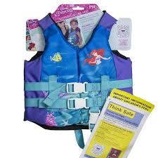 Ariel Clothes For Toddlers Amazon Com Swimways Disney Ariel Pfd Child Life Jacket Toys U0026 Games