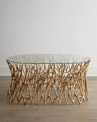 tree branch coffee table golden branches coffee table at horchow furniture office