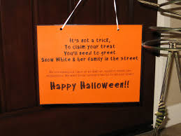 halloween sign out trick or treating u2013 festival collections