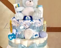 boy diaper cakes etsy