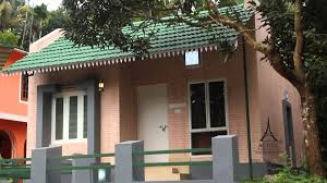 home design with budget home architecture slope roof low cost home design kerala and