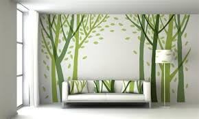 Awesome Wall Paint Design Ideas With Tape Pictures Decorating - Wall paintings design
