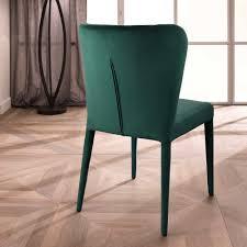 Esszimmer Mit Glastisch Stuhl Set Für Esszimmer Light In Grün Mit Velours Wohnen De