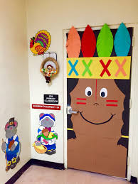 thanksgiving fall indian kindergarten classroom door s c h o o l