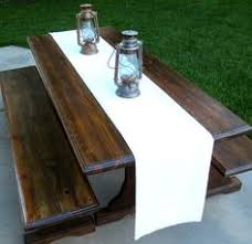 Refinishing A Kitchen Table by How To Refinish Wooden Picnic Tables Picnic Tables Picnics And
