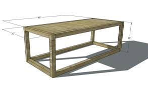 Plans For Wooden Coffee Table by Remodelaholic 20 Things To Build From 2x2 Wood Boards