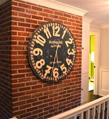 gigantic wall clock u2013 philogic co