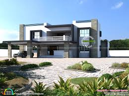2500 Sq Ft House by 4500 Square Feet 8 Bhk Flat Roof Home Kerala Home Design