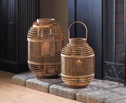 bamboo garden candle lantern s wholesale at koehler home deor