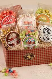 popcorn gift baskets popcorn gift box custom handmade chocolates gifts by