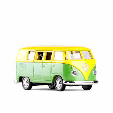 volkswagen yellow car vehicle retro online shop high simulation rmz city car styling volkswagen van