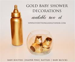 gold baby shower decorations gold baby shower decorations babyshower gold