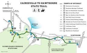 gainesville map alachua florida trails gainesvilleian