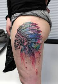 indian headdress tattoo on ribs skull indian headdress best tattoo design ideas
