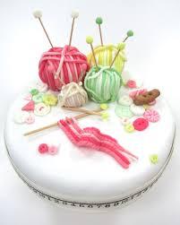 the 25 best knitting cake ideas on pinterest fondant flowers