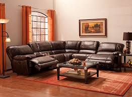 raymour and flanigan power recliner sofa dowling 6 pc sectional sofa w 2 power recliners pc furniture