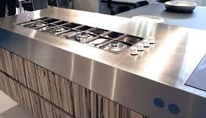plan de travail inox cuisine plan de travail en acier inox de cuisine abk innovent