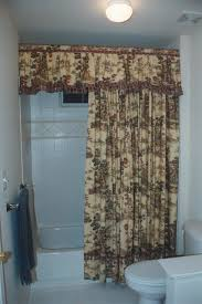 French Country Window Valances Cottage Charm French Country Toile Valance And Shower Curtain