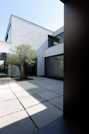 contemporary courtyard house retirement plans home floor