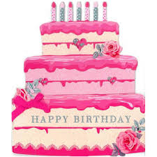 cake birthday pink cake birthday card birthday cards cards heart