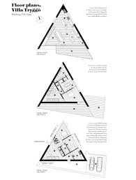 Triangle Floor Plan by Klevens Udde By Wingårdh Arkitektontor