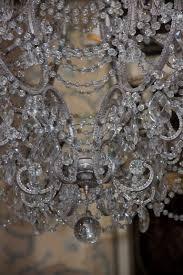 beaded crystal chandelier monumental italian crystal beaded chandelier melissa levinson