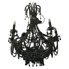 Black Gothic Chandelier Study You Light Up My Life