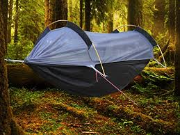 amazon com crehouse winter hammock with mosquito net and rainfly