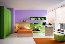 bedroom cozy purple and fresh green bedroom color combination