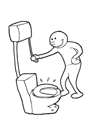 coloring page flush img 19199
