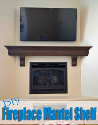 brilliant diy fireplace mantel h83 about interior decor home with