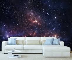 galaxy wall mural stickerswall space universe galaxy planet wall mural photo