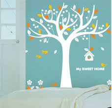 home sweet home decoration home decorating images my sweet home colorful tree wall sticker