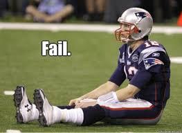 Sad Brady Meme - fail sad tom brady quickmeme