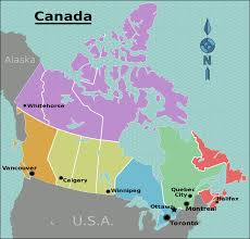 Ottawa Canada Map File Canada Regions Map Svg Wikimedia Commons