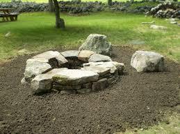 Firepit Stones Maine Stonework Masonry Hardscaping Perennial