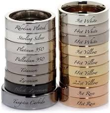 types of mens wedding bands best 25 metal types ideas on metallic smart dresses