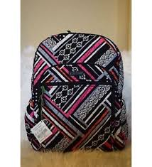 backpack black friday friday nwt vera bradley campus tech backpack large northern stripes